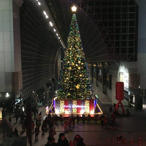 京都駅ビル構内クリスマスイルミネーション